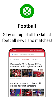 Opera Mini - fast web browser Screenshot