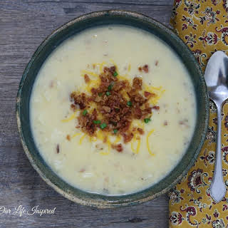 Loaded Baked Potato Soup.