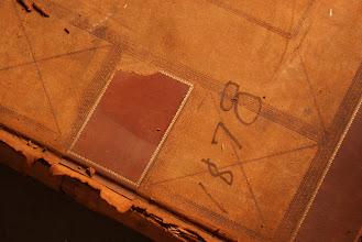Photo: Ledger Book from 1878  Lackawanna Historical Society Vaults (photos © Chris Balton)