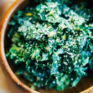 Raw Vegan Caesar Salad w/ Crunchy Hemp Seeds + Lemon Zest