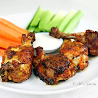 "Crispy Baked Buffalo ""Wings"""