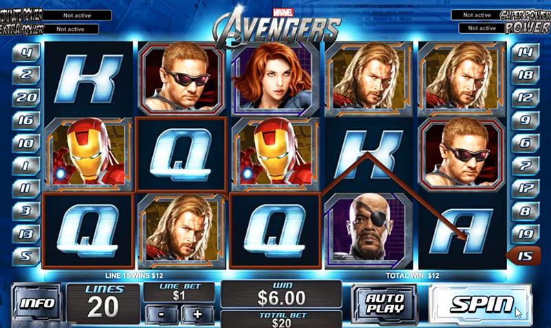 Online Casino Games Based on Marvel Comics