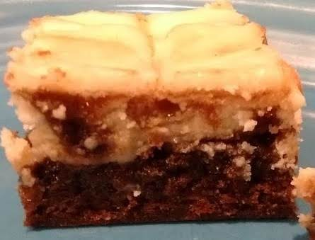 Chocolate Fix Cheesecake Topped Brownies By Maggie Recipe
