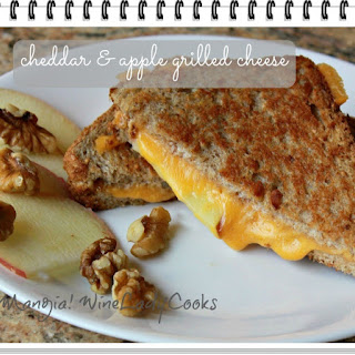 Cheddar and Apple Grilled Cheese.