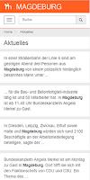 Screenshot of Magdeburg