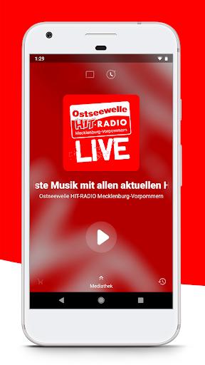 Ostseewelle HIT-RADIO M-V screenshot 1