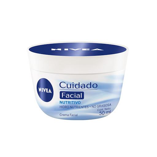 crema facial nivea cuidado nutritivo 50ml....
