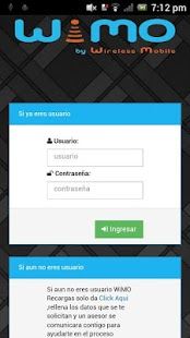 Download WiMO Recargas & Servicios For PC Windows and Mac apk screenshot 1