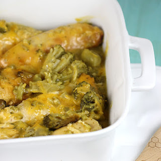 Slow Cooker Cheesy Chicken and Broccoli.