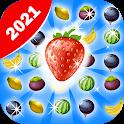 Fruit Mania Ellys Travel - Magic Garden Match 3 icon