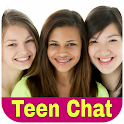 Teen chat- Online Live teen girls&boys chat room icon