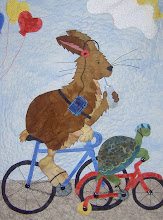 Photo: Tortoise and Hare are riding along side by side in a joint effort to bring awareness to this cause.