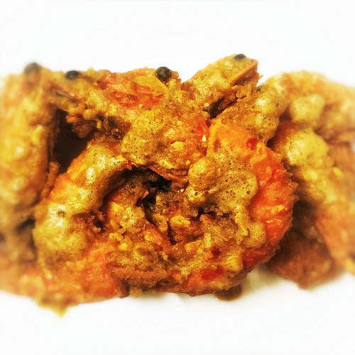 Golden Prawns, Salted Egg Yolk, salted duck egg, 黃金蝦碌, recipe, seafood, chinese, Chinese new year, stir fry