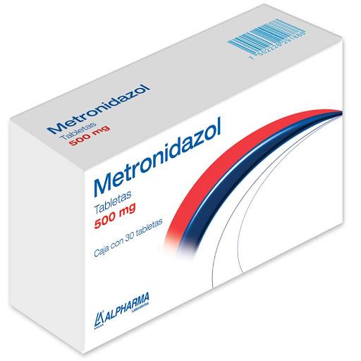 metronidazol 500mg 30tabletas alpharma
