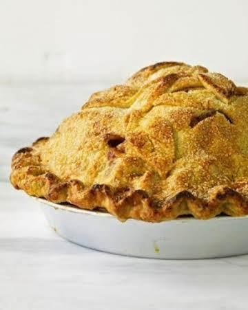 Mile High Apple Pie by~Martha Stewart