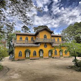 Chalet da Condessa by Julio Cardoso - Buildings & Architecture Public & Historical ( chalet da condessa d'edla, sintra, parque da pena, fernano ii, portugal )