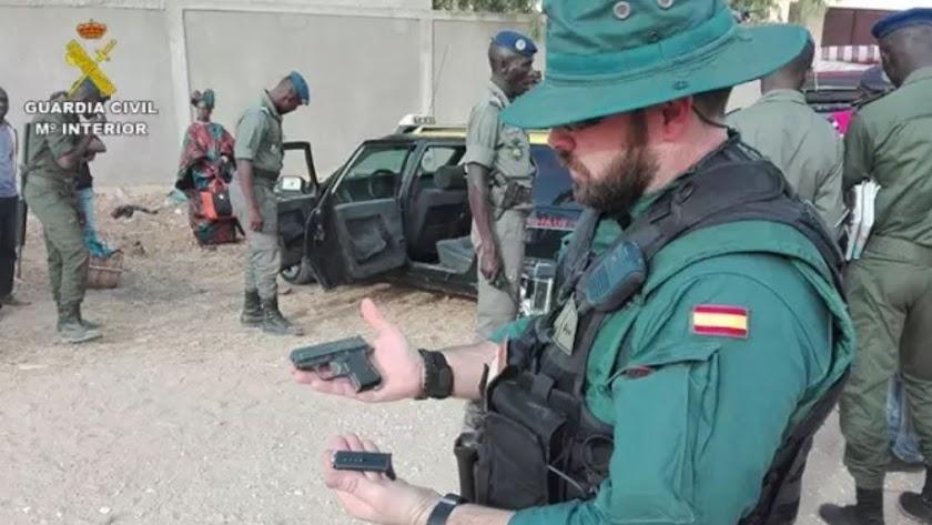 Agentes del GAR en Senegal en el marco del Ejercicio FLINTLOCK 16