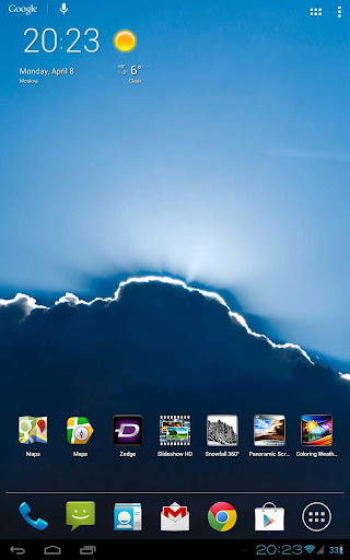 ... Slideshow HD Live Wallpaper screenshot 17 ...