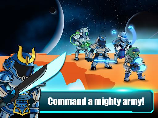 Space Warriors - Sci-fi Strategy Combat Game 1.0 screenshots 10