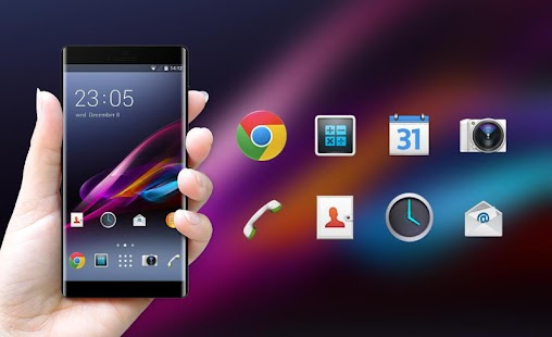 Theme for Sony Xperia Z1 HD - náhled