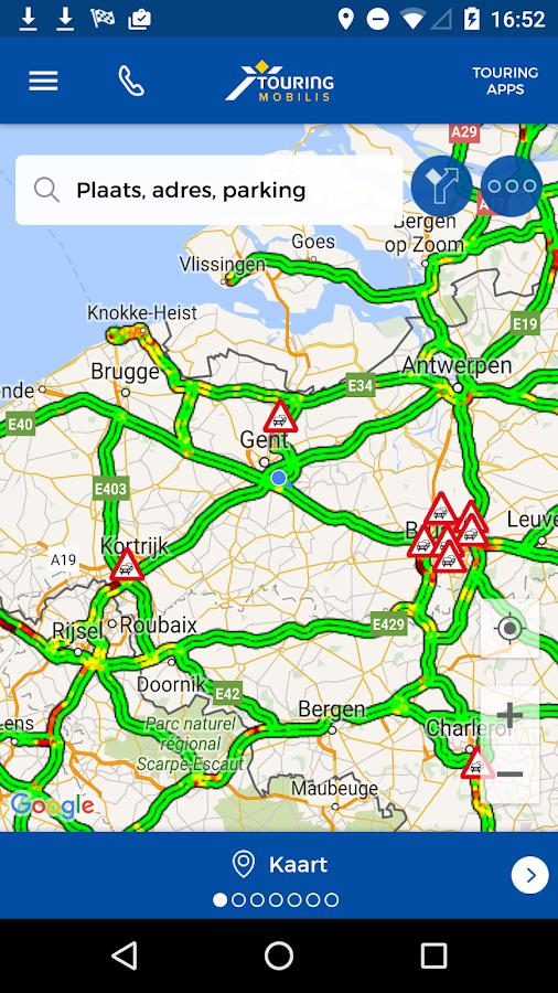 Touring Mobilis Routes
