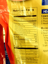 Photo: Here are the nutrition facts from the Tyson chicken nugget sticks. I decided to buy the Tyson chicken nugget sticks.