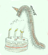 Photo: Jamie's Millipede wants 500 forks and 500 plates for its cake.