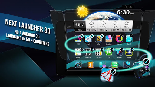 Next Launcher 3D Shell Lite screenshot 8