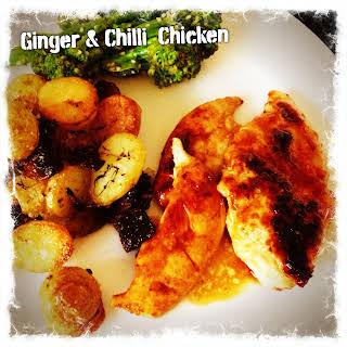 Ginger & Chilli Chicken.