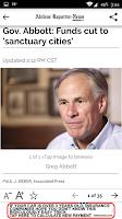 Screenshot of Abilene Reporter-News