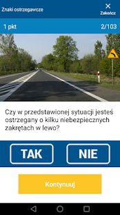 Testy na prawo jazdy 2018 - náhled