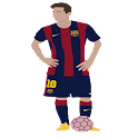 Leo Messi Widget icon