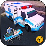 911 Ambulance Rescue Duty Sim Icon