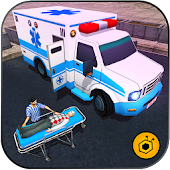Ambulance rescue simulator 2017 - 911 city driving
