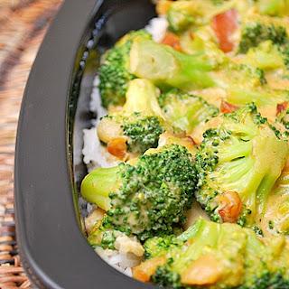 Cheesy Broccoli and Rice Casserole.