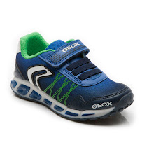 Geox Jr Shuttle Boy Trainer LIGHTS TRAINER