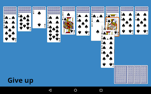 Classic Spider Solitaire App Latest Version  Download For Android 5