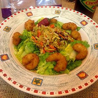 Emerald Isle Shrimp Salad with Crunchy Carolina Slaw.