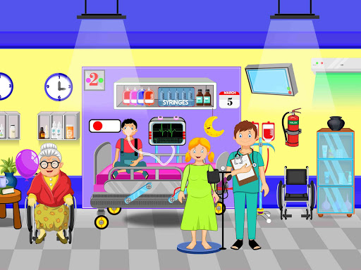 Pretend Town Hospital: City Doctor Life Game 1.0.6 screenshots 11