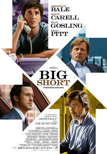 Polski plakat filmu 'Big Short'
