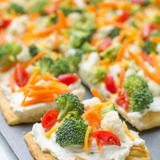 Veggie Pizza Appetizer Cream Cheese Recipes.