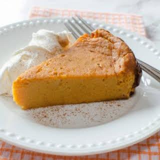 Crock Pot Pumpkin Pie Pudding Cake.