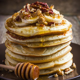 Healthy Banana Oat Pancakes Recipe