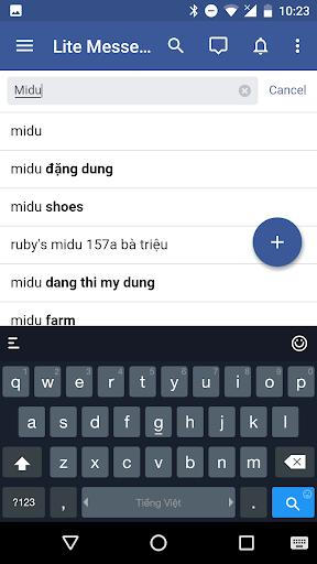 Messenger for Facebook 1.06052018 screenshots 5