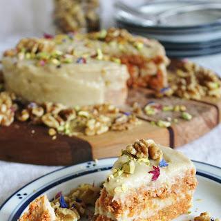 Raw Carrot Cake Recipe