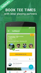 GolfMatch screenshot 1