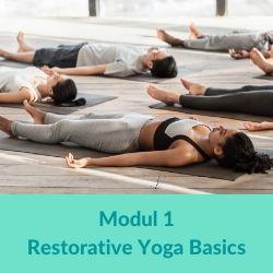 Restorative Yoga Modul 1