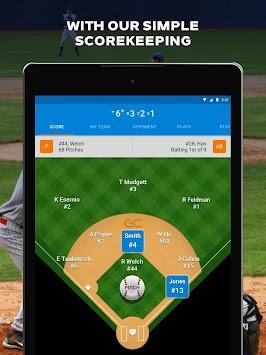 GameChanger Baseball & Softball Scorekeeper
