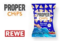 Angebot für PROPERCHIPS Sea Salt bei REWE im Supermarkt - Proper
