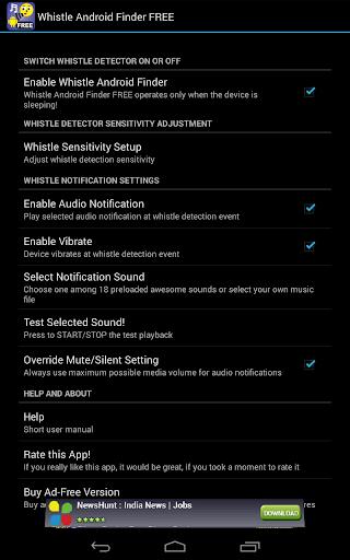 Whistle Phone Locator screenshot 8